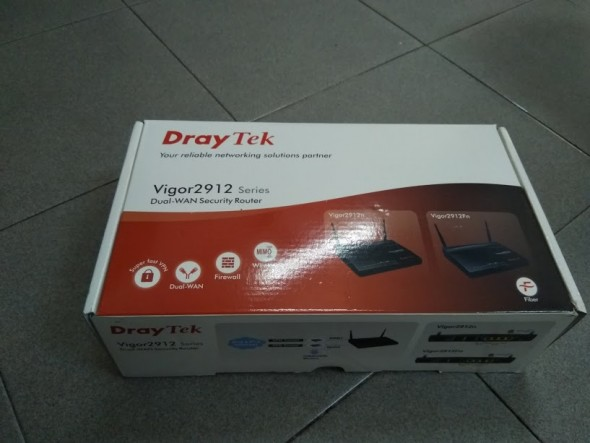 Draytek Vigor 2912N New FullBox
