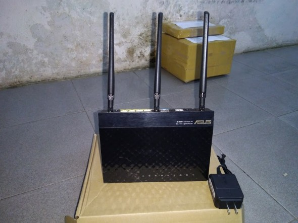Router wifi Asus RT-AC66U   AC1750