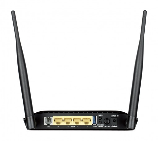 N300 Wireless ADSL2+ 4-Port Wi-Fi Route