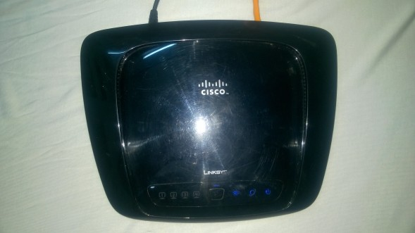 Router Linksys WRT160N v3