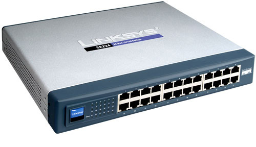 Linksys® SR224 24-Port 10/100 Switch