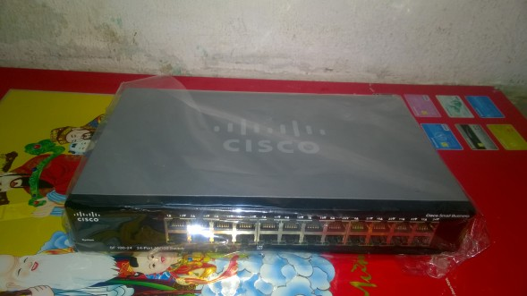 Switch Cisco SF100-24