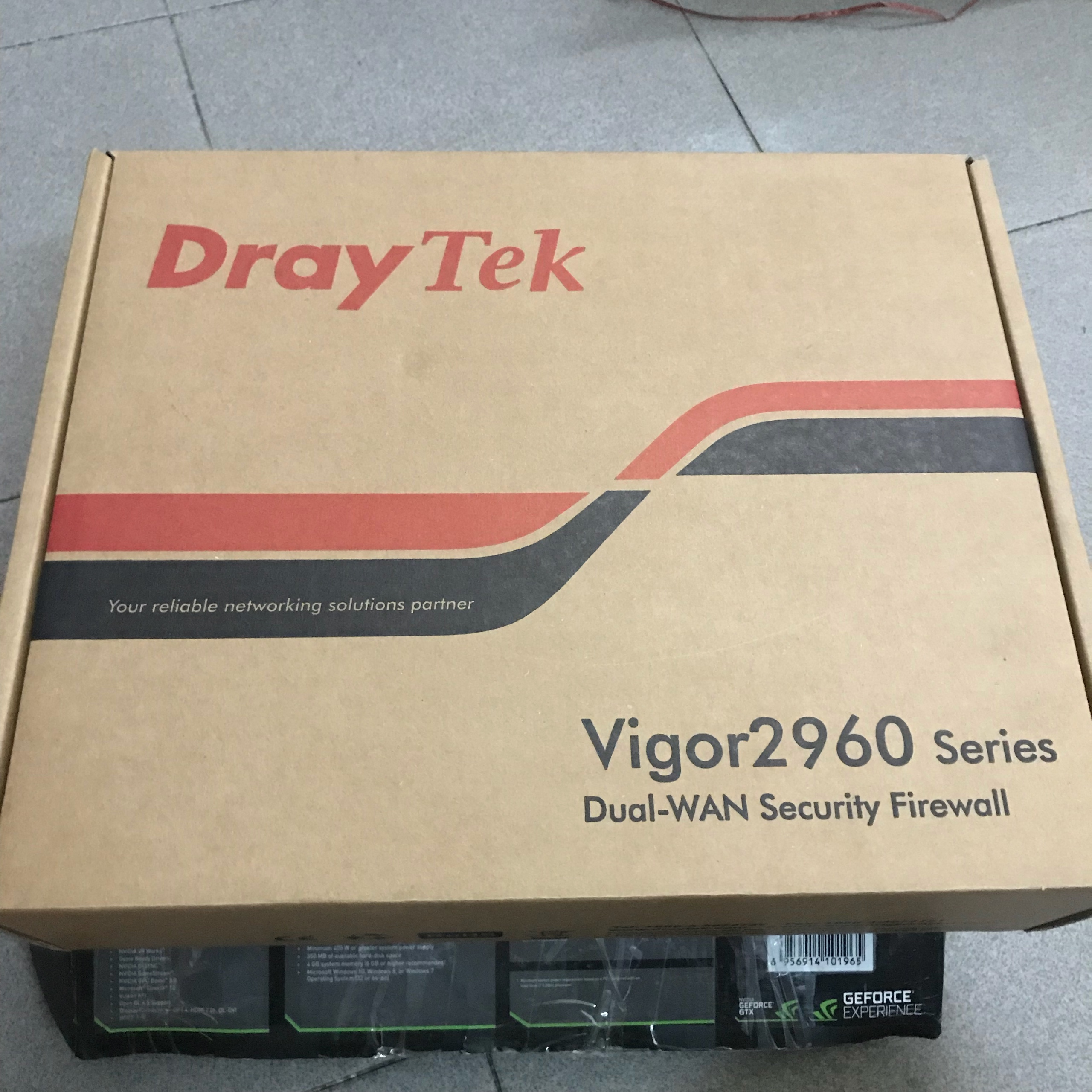 Draytek vigor 2960 new