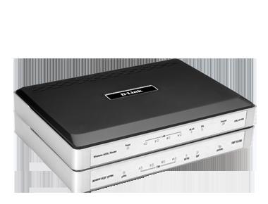Wireless N300 ADSL2+ Modem Router DSL-2740B